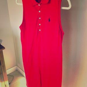 Ralph Lauren sleeveless cotton dress